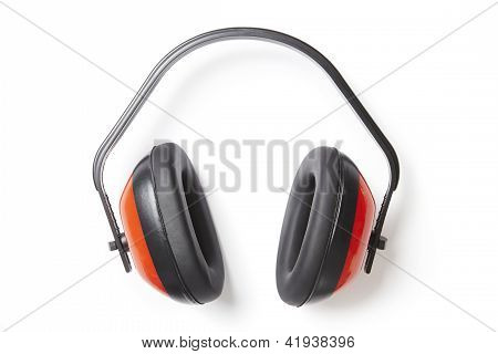 Protective Red Ear Defenders