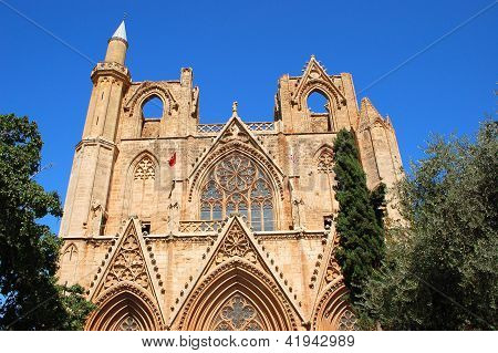 Saint Nicolas Cathedral in Famagusta, Cyprus