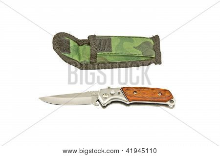 Case Knife And Pouch