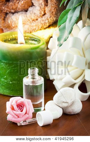Aromatherapy Oil With Rose Aroma