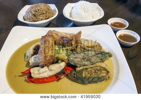 Ampang Yaong Tau Foo With Rice