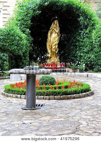 Madonna Statue Opatija