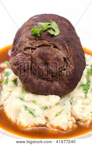Beef Roulade With Parsley