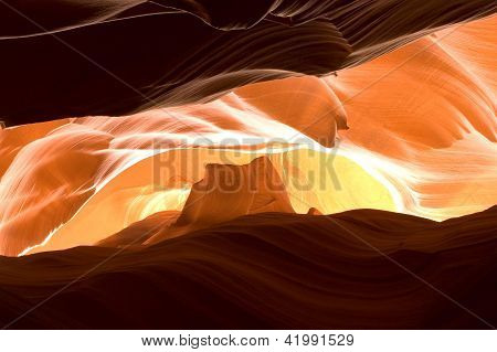 Antelope Canyon - Cathedral Rock