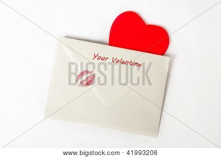 Valentine's day love letter