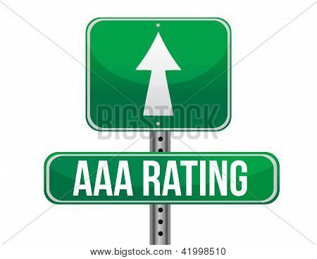 Aaa Rating Sign