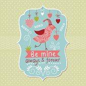 picture of xoxo  - Greeting Valentine card - JPG
