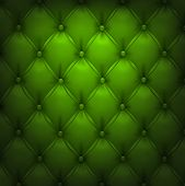 picture of  realistic  - Vector illustration of green realistic upholstery leather pattern background - JPG