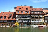 picture of regnitz  - The former fishermen settlement on the Regnitz called  - JPG