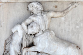 picture of centaur  - The Parthenon sculpture  - JPG