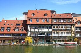 picture of regnitz  - The former fishermen settlement on the Regnitz called  - JPG