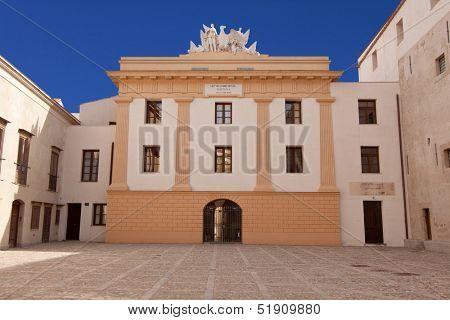 Palazzo Steri internal courtyard, Palermo, Sicily
