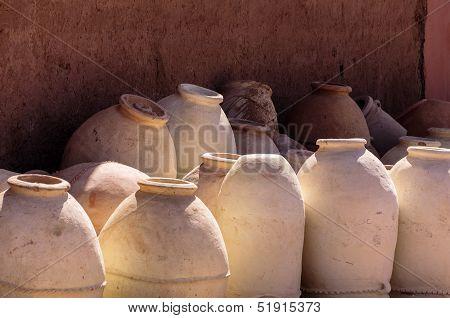 Ouarzazate (morocco) Terracotta Jars