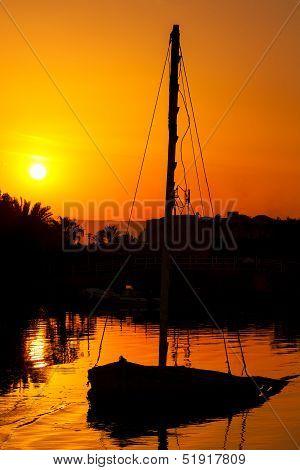 Sunset. El Gouna. Egypt