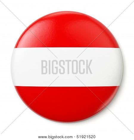 Austria Pin-back
