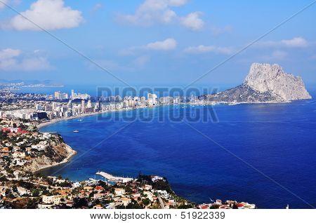 Coastline Of Calpe, Spain