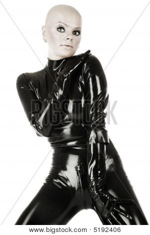 Girl In Latex