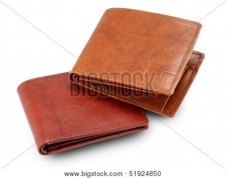 Brown & Maroon Wallet