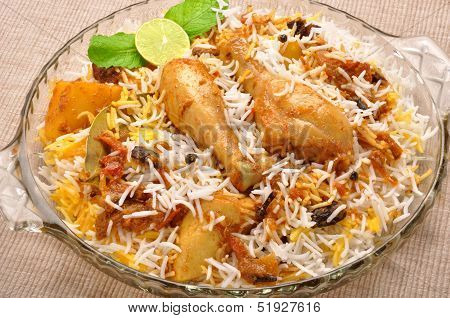 Chicken Biryani-T