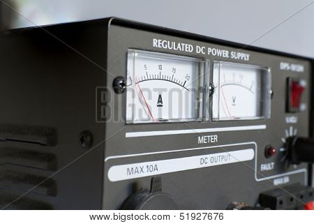 Measurement units on power supply