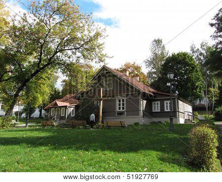 Vilnius, house where saint sister faustina lived