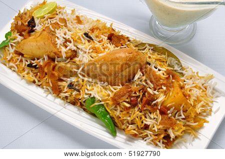 Chicken Biryani-O