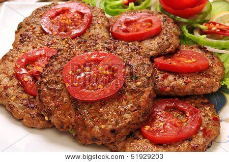 Chapli Kabab-