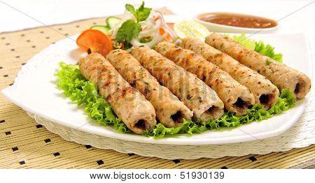 Chicken Seekh Kabab-F
