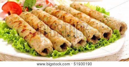 Chicken Seekh Kabab-E