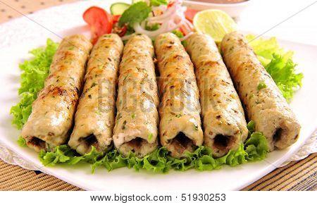 Chicken Seekh Kabab-C