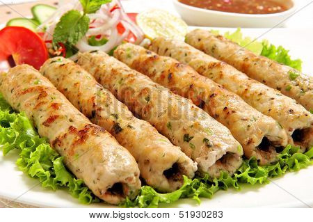 Chicken Seekh Kabab-B