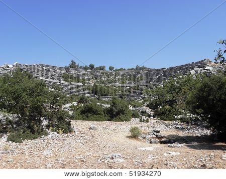 Greek amphitheater of the Kianea.
