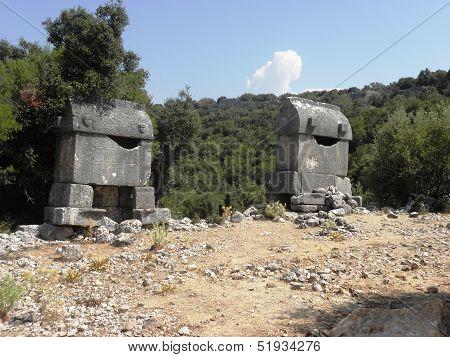Roman sarcophagus from Kyaneai.