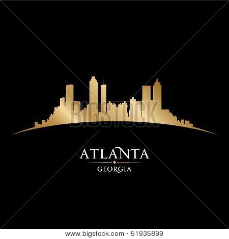 Atlanta Georgia City Skyline