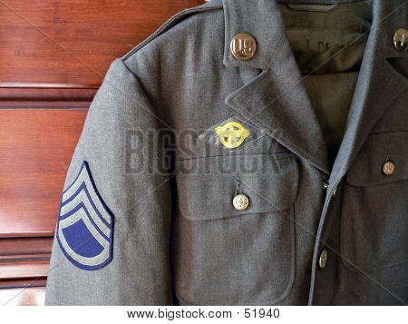 World War 2 Army Uniform