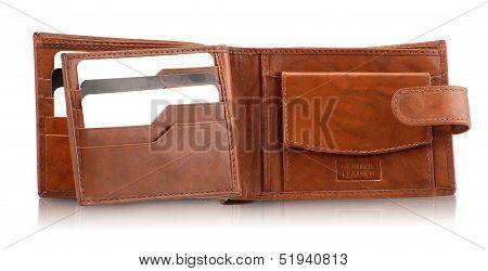 Gents Wallet Brown