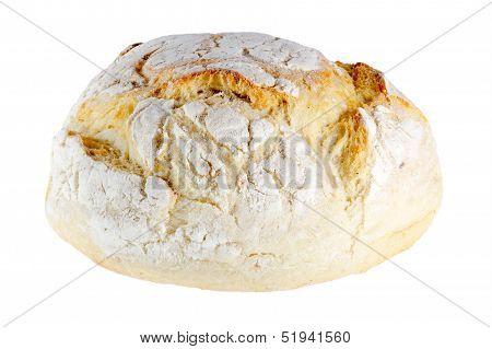 Freshly Baked Loaf Of Homemade White Bread