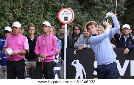 Tommy Fleetwood  at the Seve Trophy 2013
