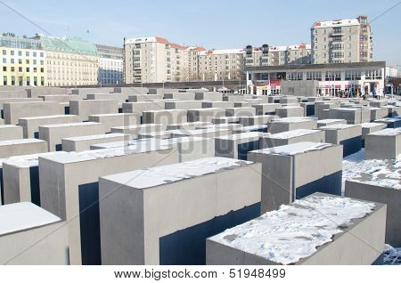 Monument to the Holocaust in Berlin