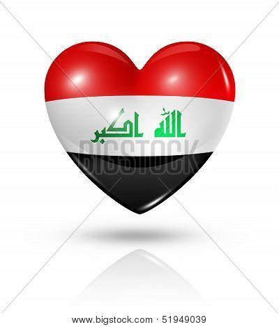 Love Iraq, Heart Flag Icon