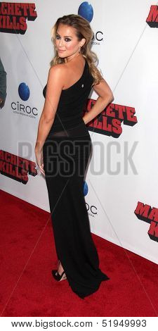 LOS ANGELES - OCT 2:  Alexa Vega at the