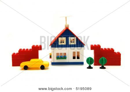 Village Miniature With House