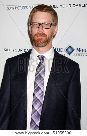 """LOS ANGELES - OCT 3:  Austin Bunn at the """"Kill Your Darlings"""" Premiere at Writers Guild Theater on October 3, 2013 in Beverly Hills, CA"""