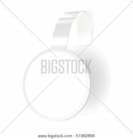 Vector Wobbler with transparent strip