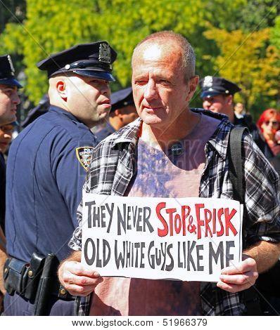 Steve Shryack & his hallmark sign