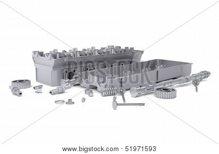 Head of cylinder block