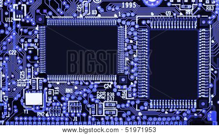 Circuit Board With Smd Components
