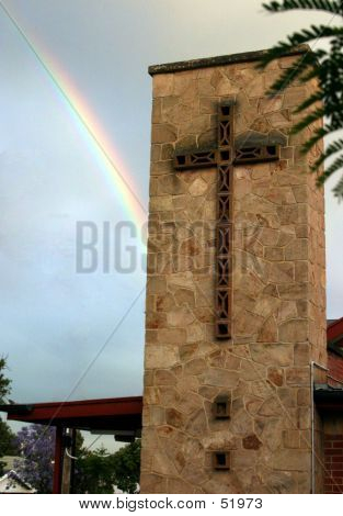 Church And Rainbow...