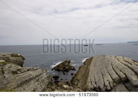 Cliff In The Cantabrian Sea