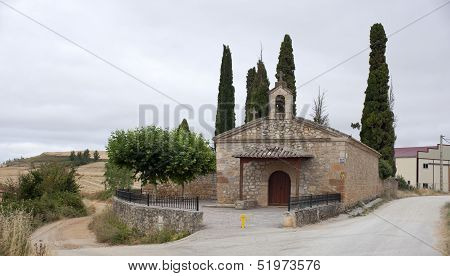 Church In The Spanish Countryside